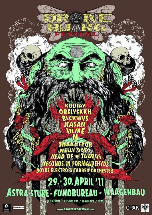 Droneburg-Festival Plakat